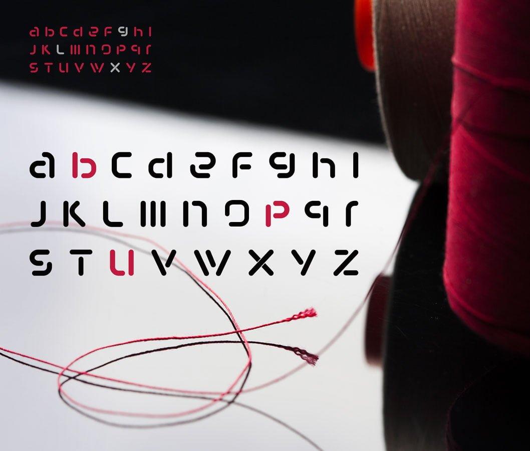 Tamborek-font
