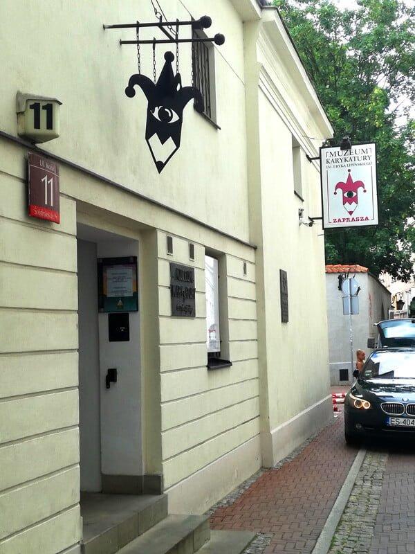 Muzeum Karykatury - budynek