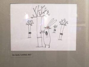 Zajac szary obywatel 03 - Muzeum Karykatury