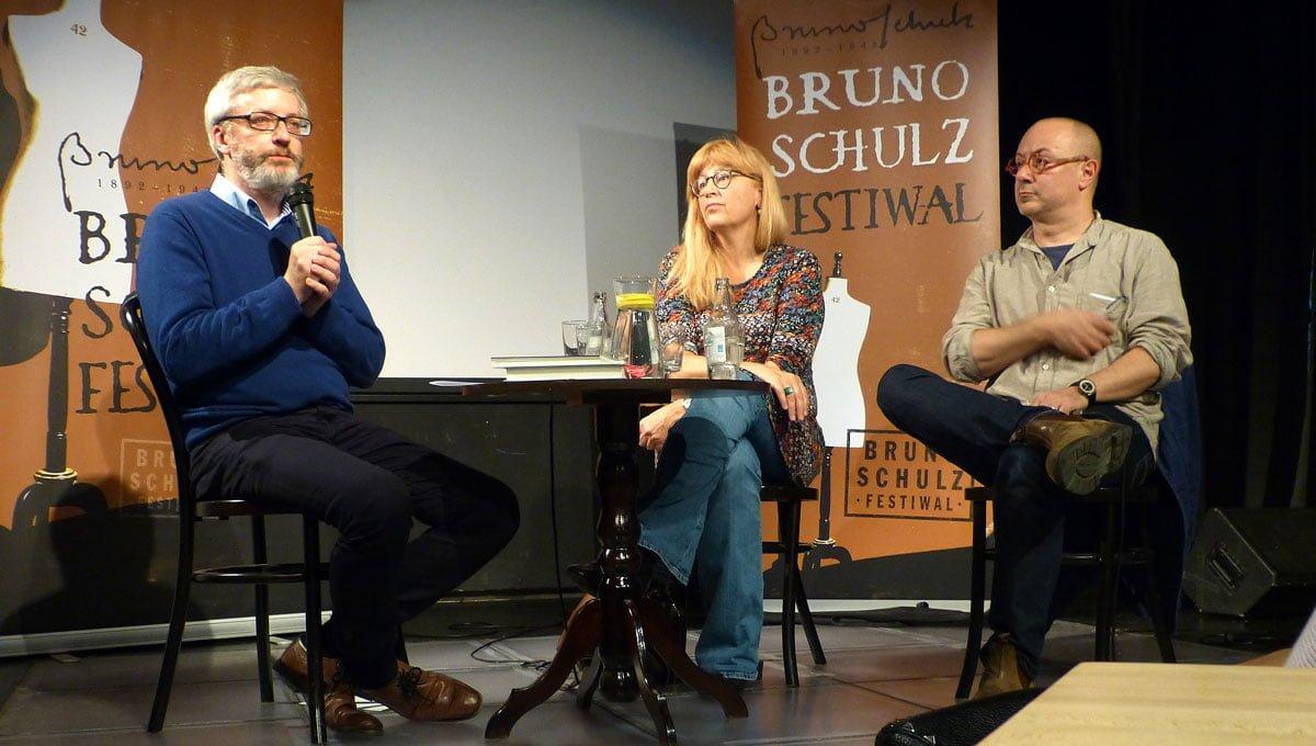 Bruno Schulz Festiwal. Spotkanie autorskie z Moniką Sznajderman i Mikołajem Grynbergiem