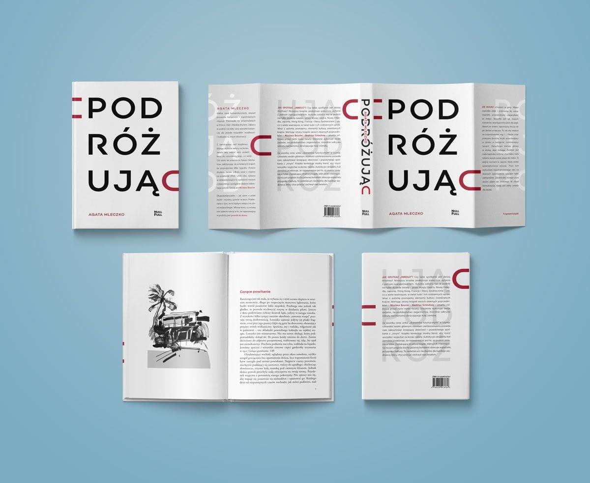Projekt książki Podróżując