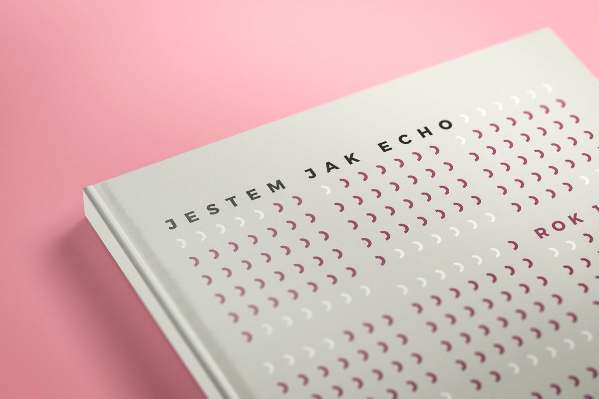 Projekt książki Jestem jak echo 02