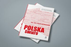 Projekt książki towarzyszącej wystawie Polska - światu 01