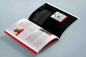 Projekt książki towarzyszącej wystawie Polska - światu 09
