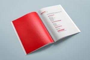 Projekt książki towarzyszącej wystawie Polska - światu 10