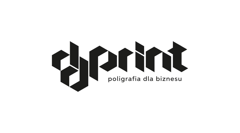 DDPrint logotyp wersja achromatyczna