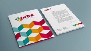 DDPrint teczka i papier firmowy
